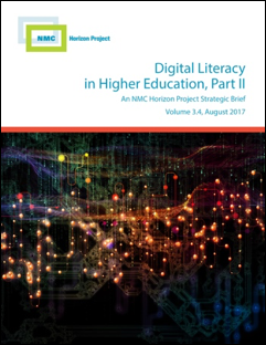 NMC RELEASES SECOND HORIZON PROJECT STRATEGIC BRIEF ON DIGITAL LITERACY