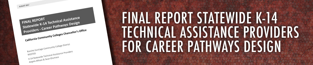 FINAL REPORT Statewide K-14 Technical Assistance Providers – Career Pathways Design
